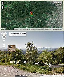 Kliknite tu in si oglejte okolico za izlete iz Toškega čela preko Google Streetview